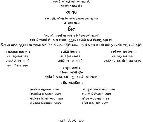 gujarati writing Hi, i want to write letters to people in gujarati, but i can't find any resources in re the style/format of a letter the main things i really want.