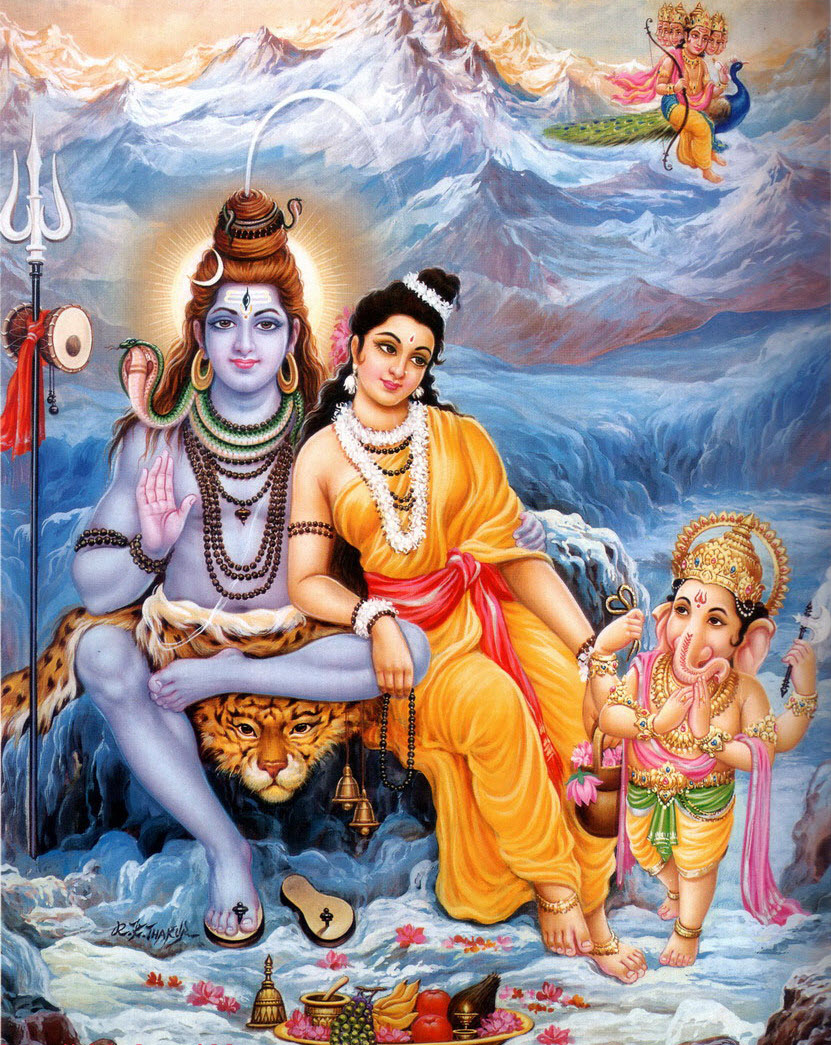 GodShivaParvati