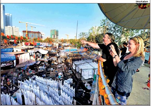 A viewing gallery at Dhobi Ghat, which attracts scores of tourists, was inaugurated on Tuesday
